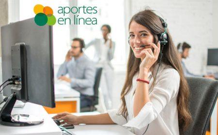 teléfonos de atención aportes en línea
