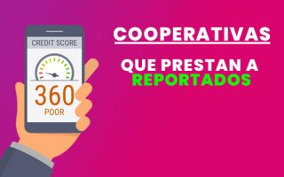 cooperativas de crédito para reportados