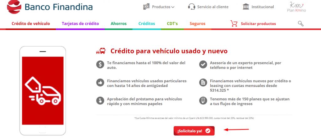 credito para compra de carro estando reportado