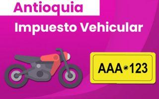 liquidación impuesto vehículos medellín antioquia y envigado