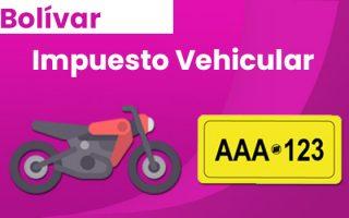 donde pagar el impuesto vehicular de cartagena bolivar