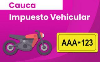 impuesto vehículo popayán cauca