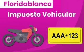 pago de impuesto vehicular de floridablanca