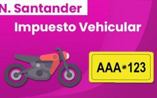 liquidacion impuesto vehicular cucuta norte de santander