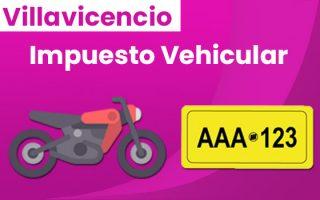 liquidación impuesto vehicular en villavicencio