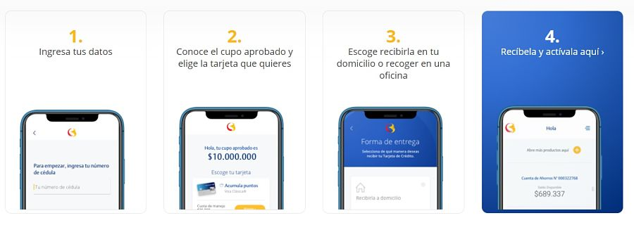 tarjeta de crédito online del banco de bogotá